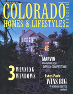 Colorad Homes & Lifestyles magazine cover