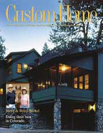 Custom Home magazine cover