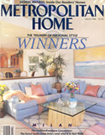 Metropolitan Home magazine cover