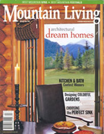 Mountain Living magazine cover