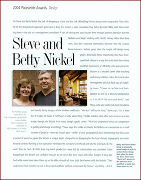 Steve & Betty Nickel